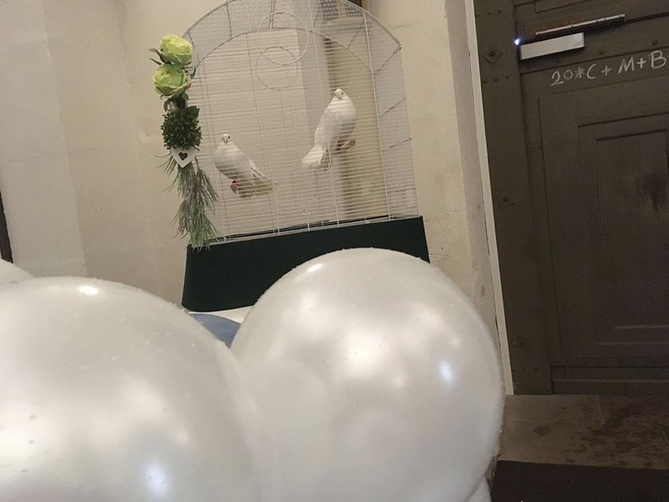 20190511-Hochzeitstauben-Luftballons-Eichsfelder-Dom-Duderstadt-3